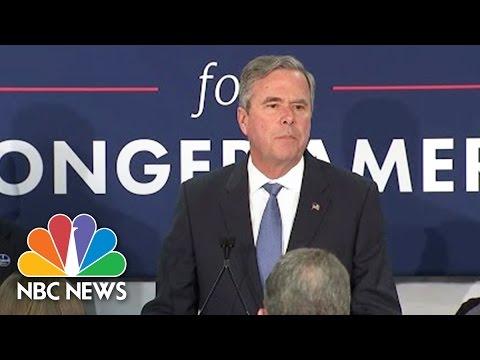 Jeb Bush Suspends Presidential Campaign | NBC News