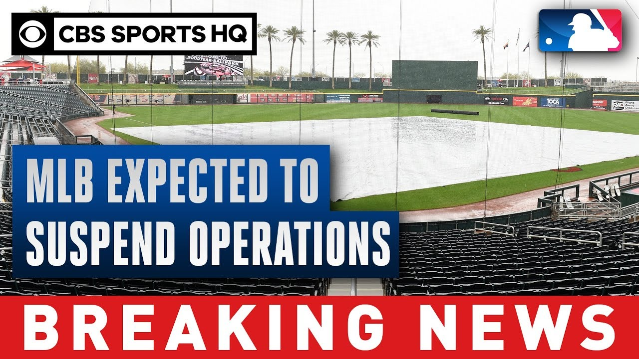 MLB expected to suspend operations
