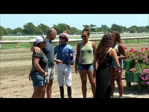 video thumbnail for MONMOUTH PARK 7-28-19 RACE 3