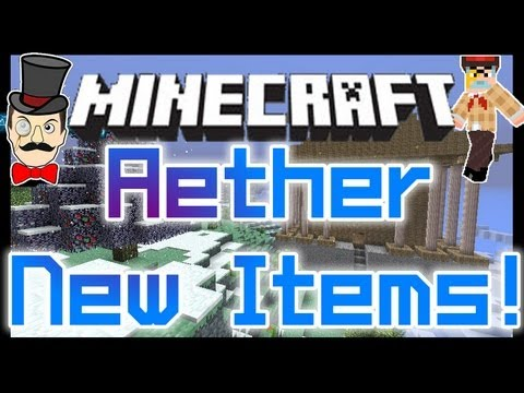 Minecraft Mods - AETHER Mod Invisibility Cloak Update , Blueberry Bushes & More !