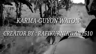 Guyon waton - karma(lyrics)