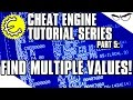 Cheat Engine 6.4 Tutorial Part 5: Finding Multiple Values at the Same Time