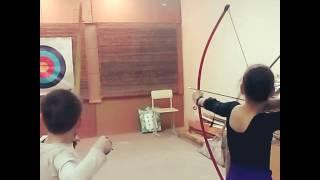 Тренировки дети стрельба из лука