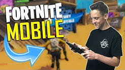 FAST MOBILE BUILDER on iOS / 580+ Wins / Fortnite Mobile + Tips & Tricks!