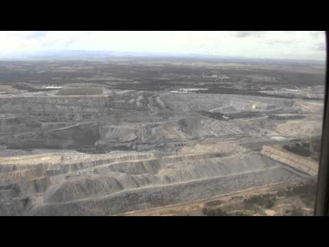 Flight Over Coal Mines Of The Hunter Valley - 16 July 2011