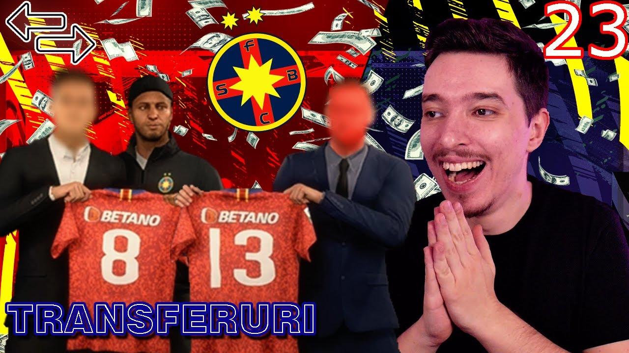 FACEM TRANSFERURI DE PESTE 40M EURO LA FCSB SI JUCAM SUPERCUPA EUROPEI !!! FIFA 21 ROMANIA