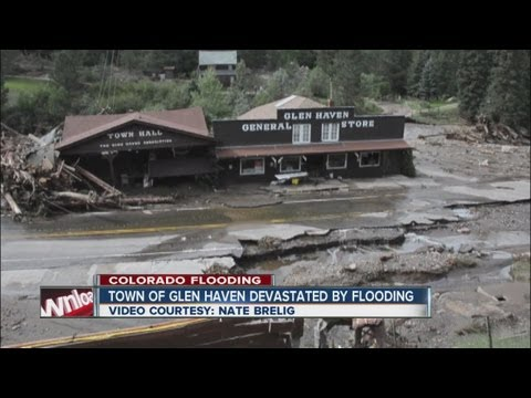 Town of Glen Haven devastated