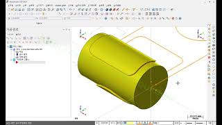 CNC선반 원통면 밀(포켓 또는 윤곽)가공--CNC선반…