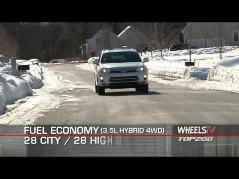 2011 Toyota Highlander Hybrid Test Drive
