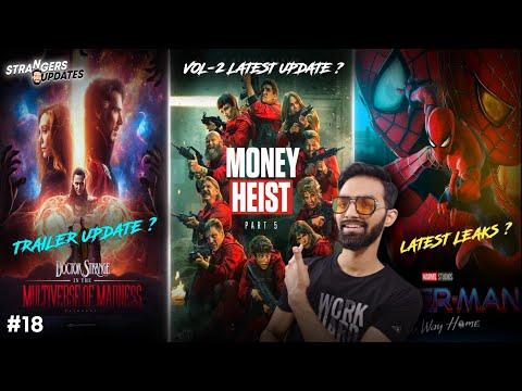 Money Heist Season 5 Volume 2 Trailer | Spiderman No Way Home | Doctor Strange 2 Trailer | SU#18