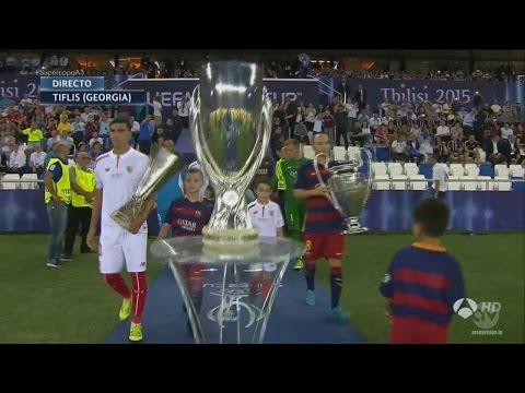 FC Barcelona vs Sevilla 5-4 Highlights 2015-16 HD 720p (UEFA Super Cup)