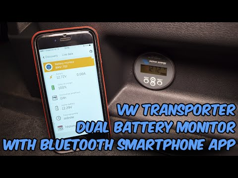 Volkswagen T5 Dual Battery Monitor with Bluetooth - Victron Energy