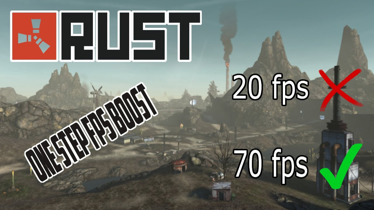 Fps boost rust