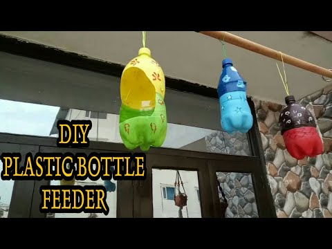 how-to-make-a-bird-feeder-/recycled-plastic-bottle-🐦🐦
