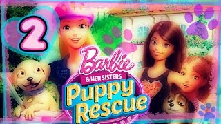 Barbie and Her Sisters: Puppy Rescue Walkthrough Part 2 (PS3, Wii, X360, WiiU) Full Gameplay