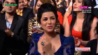 YO YO HONEY SINGH AND SHAHRUKH KHAN  || NEW RAP SONG || 20th ANNUAL LIFE OK SCREEN AWARD 2014