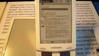 Samsung E60 HandsOn @ Samsung Roadshow