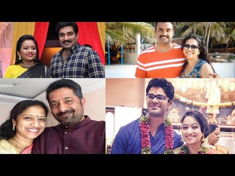 Thumbnail: Telugu TV Anchors And Their Husband Photos