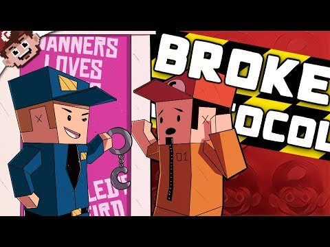 LAW and ORDER: YouTuber Victim Unit   Chilled & Nanners go to Jail! (Broke Protocol - Funny Moments)