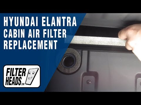 How to Replace Cabin Air Filter 2014 Hyundai Elantra