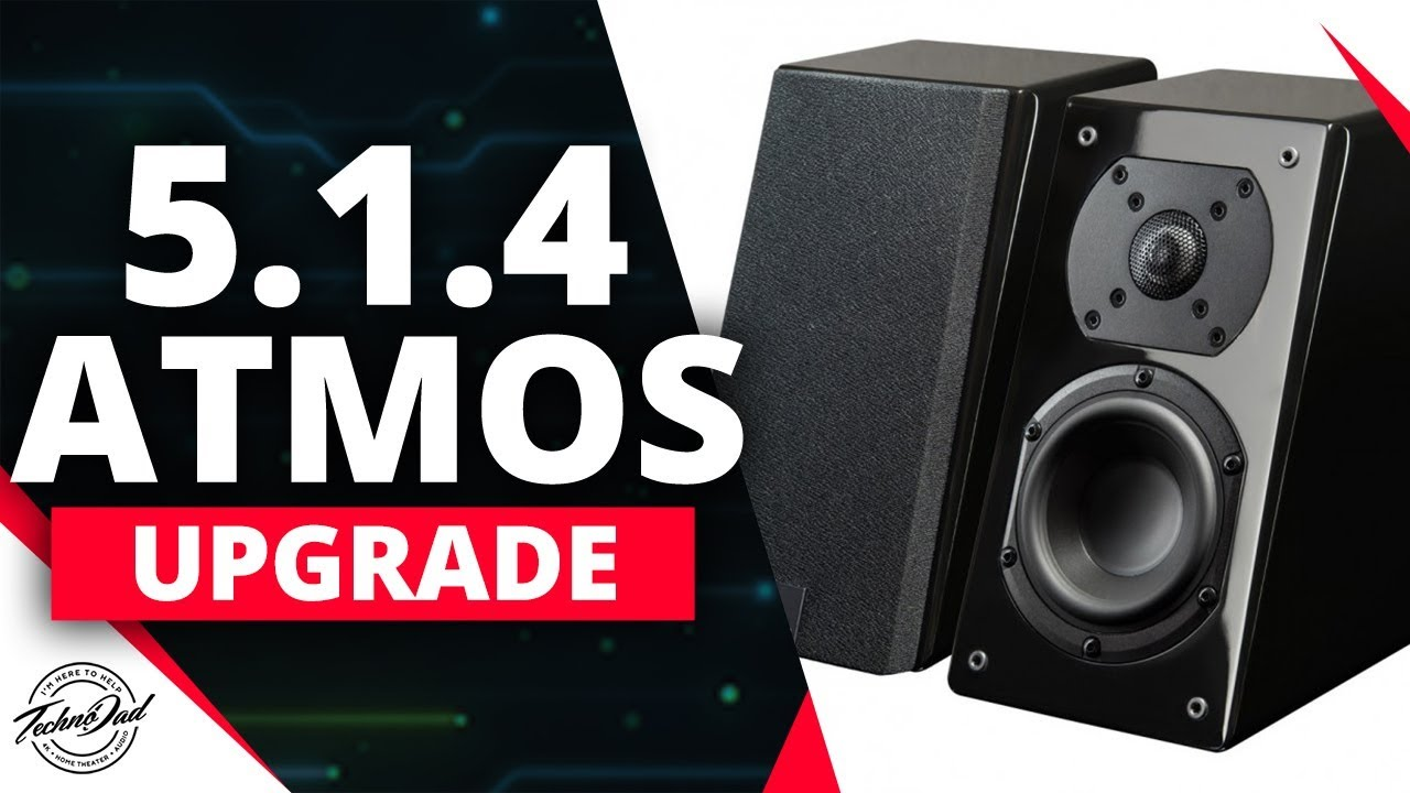 Dolby Atmos Upgrade 5 1 2 to 5 1 4 and 10 1 Auro 3D | SVS Prime Elevation  Speakers