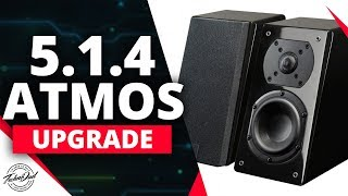 Dolby Atmos Upgrade 5.1.2 to 5.1.4 and 10.1 Auro 3D | SVS Prime Elevation Speakers