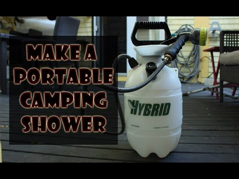 How to Make a Camping Shower - Life Hack