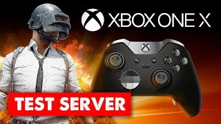 PUBG XBOX ONE X // TEST SERVER // Elite Controller // Live Stream Gameplay