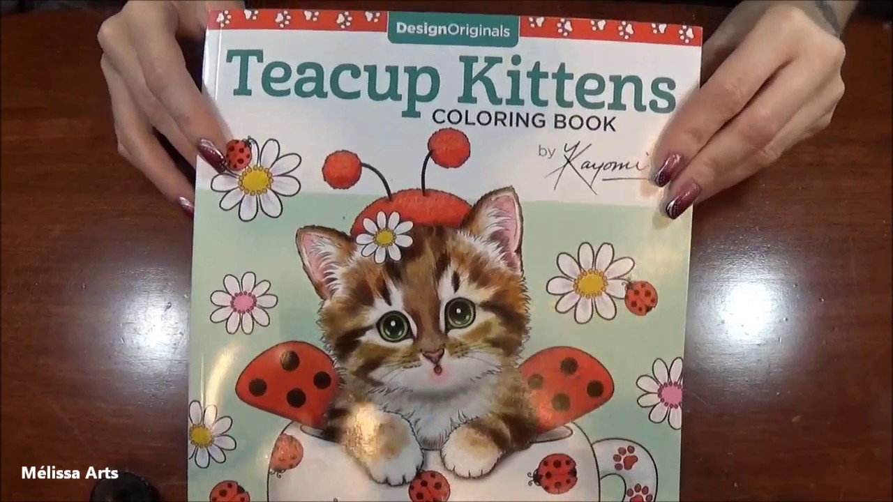 Presentation Teacup Kittens Coloring Book