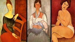 Amedeo Modigliani. Diez Obras Maestras. Réplicas Pictóricas de Gran Calidad.