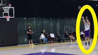LiAngelo Ball SHOWS OFF Skills After Lonzo Scores Him An EARLY WORKOUT with The Lakers!