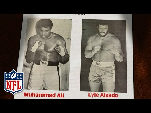 Muhammad Ali & Lyle Alzado Square Off in the Boxing Ring  | A Football Life | NFL Films