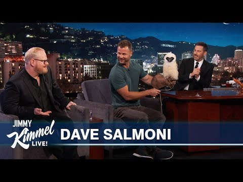Sheri Van Dyke - Always Love Animal Segments - Dave Salmoni On Jimmy Kimmel Live!