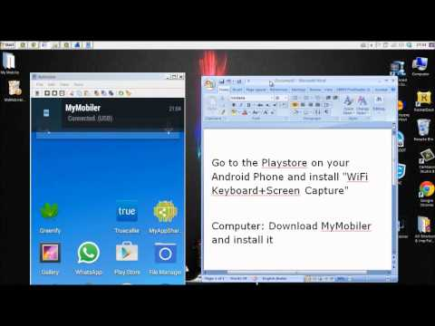 How to show android phone screen on computer - MyMobiler