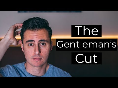Haircut: How to Request & Style the Gentleman Haircut