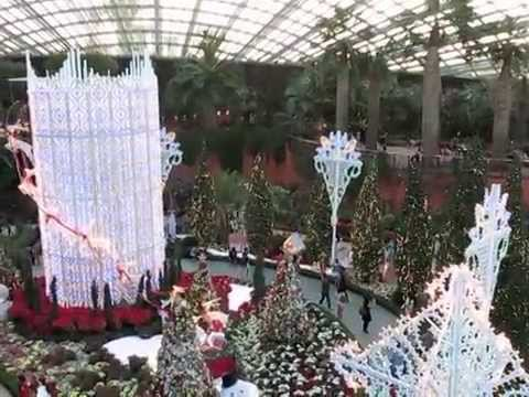 Christmas Gardens By The Bay Singapore Youtube