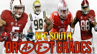 NFC SOUTH Grades FOR 2017 NFL DRAFT - TAMPA BAY WINS THE DRAFT?