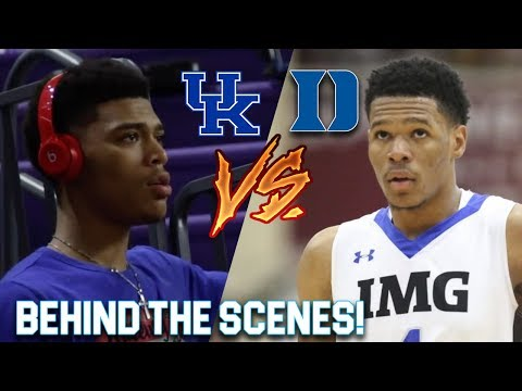 "Hoop Journey Episode 2 ""Trevon Duval VS Quade Green!"" 