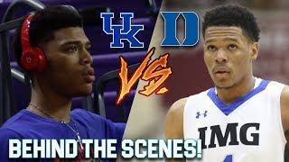 """Hoop Journey Episode 2 """"Trevon Duval VS Quade Green!""""   DUKE vs Kentucky"""