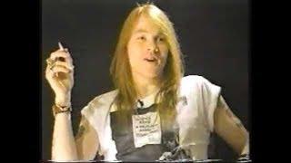 Guns N' Roses Axl Rose on Why NWA Were the Real Deal & More Street Than Guns N' Roses!