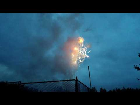 Video of 4th July Fireworks in Eagle River AK