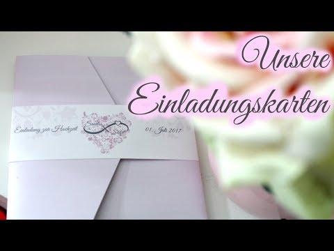 Unsere Einladungskarten   Hochzeitseinladung Textideen   braut.TV