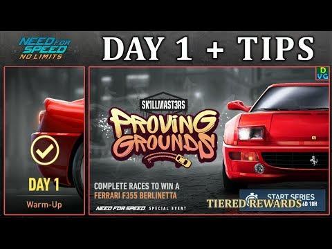 NFS No Limits  Day 1 + TIPS - Ferrari F355 Berlinetta  Proving Grounds