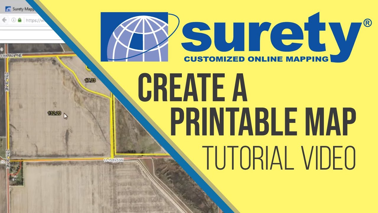 Getting Started With Surety Mapping Create A Printable Map - Surety maps