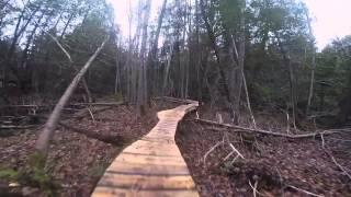Mountain Bike Ladder Bridge