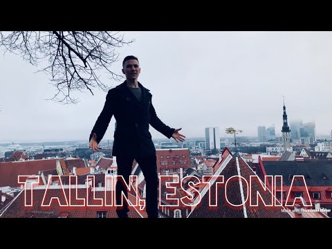 Jumping into a Time Machine; Exploring Tallinn, Estonia! E:06