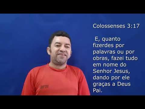 Reflexão em Colossenses 3:17. Apóstolo Lindomar Oficial