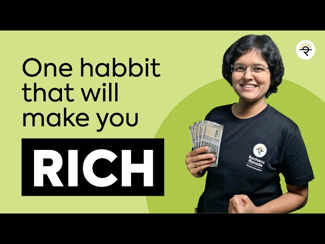 How To Save Money And Become Rich?   Personal Financial Planning Course P2 CA Rachana Phadke Ranade