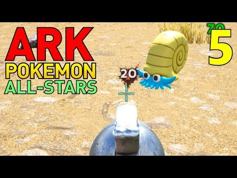 [5] I Feel Like A Villain Team Member! (ARK Pokemon All-Stars Multiplayer)