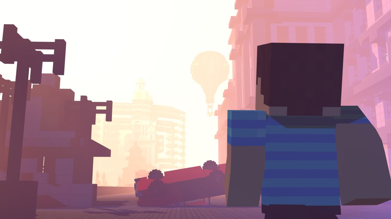 Escaping Reality : (Ep.5): LOST AND FOUND (Minecraft Animation) - Kane continues his search to find Spencer while havoc tears into the city.